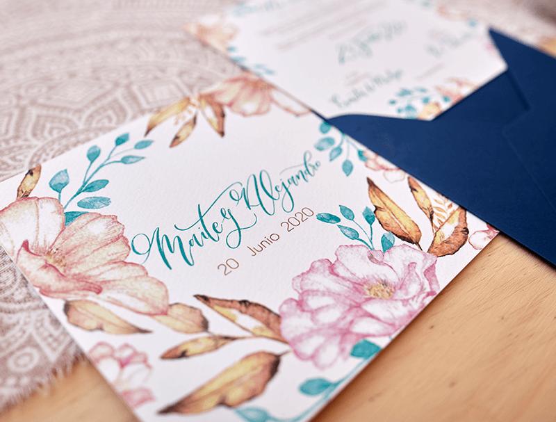 invitaciones-boda-caligrafía